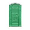 Кабина туалетная EcoLight тип универсальный  (панель шагрень, цвет зеленый)