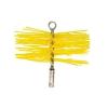 Щетка нейлоновая желтая 150 мм