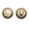 Накладка поворотная Trodos BK-AL SB/CP (матовое золото/хром)