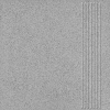 Керамогранит 300х300х7 мм Unitile Техногрес Профи ступени серый матовый (15 шт)