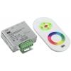 Контроллер с ПДУ радио RGB 3 канала 12В 4А 144Вт белый IEK LSC1-RGB-144-RF-20-12-W