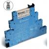 Модуль интерфейсный (сборка 34.51.7.060.0010 + 93.01.0.240) электромеханич. реле 1CO 6А AgNi 230-240В AC/DC IP20 винт. клеммы FINDER 385102400060
