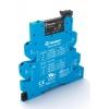 Модуль интерфейсный (сборка 34.51.7.024.0010 + 93.65.7.024) электромеханич. реле MasterOUTPUT 1NO 6A 24В AC/DC IP20 безвинт. клеммы Push-in Finder 395100240060