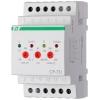 Реле напряжения CP-731 (трехфазный; микропроцессорный; контроль верхнего и нижнего значений напряжения; контроль асимметрии; чередования фаз; монтаж на DIN-рейке 35мм 3х400/230+N 2х8А 1Z 1R IP20) F&F