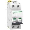 Выключатель автоматический модульный 2п C 50А 6кА Acti9 iC60N SchE A9F79250