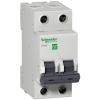 Выключатель автоматический модульный 2п C 50А 6кА EASY9 =S= 230В SchE EZ9F56250