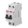 Выключатель автоматический модульный 2п C 10А 4.5кА Basic M BMS412C10 ABB 2CDS642041R0104