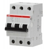 Выключатель автоматический модульный 3п C 50А 4.5кА SH203L C50 ABB 2CDS243001R0504
