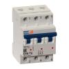 Выключатель автоматический модульный 3п C 63А 6кА OptiDin BM63-3C63-УХЛ3 КЭАЗ 260802