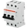 Выключатель автоматический модульный 3п B 25А 6кА S203 B25 ABB 2CDS253001R0255
