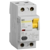 Выключатель дифференциального тока (УЗО) 2п 40А 100мА тип AC ВД1-63 IEK MDV10-2-040-100