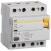 Выключатель дифференциального тока (УЗО) 4п 63А 300мА тип AC ВД1-63 IEK MDV10-4-063-300
