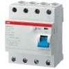 Выключатель дифференциального тока (УЗО) 4п 25А 30мА тип AC F204 ABB 2CSF204001R1250