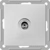 Механизм коннектора TV антенны 1-м СП W59 оконечная без рамки бел. SchE RTS-151-1-86