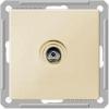 Механизм коннектора TV антенны 1-м СП W59 оконечная без рамки сл. кость SchE RTS-151-2-86