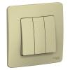 Выключатель 3-кл. СП Blanca 10А IP20 (сх. 1+1+1) 250В беж. SchE BLNVS100507
