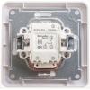 Выключатель 2-кл. СП W59 10А IP20 10AX с подсветкой в сборе бел. SchE VS510-251-18