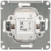 Механизм выключателя 1-кл. СП W59 10А IP20 10AX сл. кость SchE VS110-154-2-86