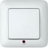 Выключатель 1-кл. СП Прима 6А IP20 с подсветкой бел. (опт. упак.) SchE S16-053-B