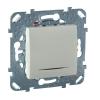 Механизм выключателя 1-кл. СП Unica 10А IP20 (сх. 1а) с подсветкой беж. SchE MGU5.201.25NZD