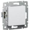 Механизм выключателя 1-кл. СП Cariva 10А IP20 250В авт. клеммы бел. Leg 773656