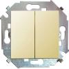 Механизм выключателя 2-кл. СП Simon 15 16А IP20 винт. зажим сл. кость Simon 1591398-031