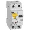 Выключатель автоматический дифференциального тока C 25А 30мА АВДТ32EM IEK MVD14-1-025-C-030