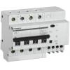 Выключатель автоматический дифференциального тока 4п 25А 30мА АД14 GENERICA IEK MAD15-4-025-C-030