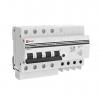 Выключатель автоматический дифференциального тока 4п 7.5мод. C 25А 30мА тип AC 4.5кА АД-4 PROxima EKF DA4-25-30-pro