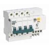 Выключатель автоматический дифференциального тока 4п C 25А 30мА тип AC 4.5кА ДИФ-101 6.5мод SchE 15022DEK