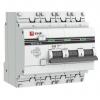 Выключатель автоматический дифференциального тока 3п+N C 63А 30мА тип AC 4.5кА АД-32 PROxima EKF DA32-63-30-4P-pro