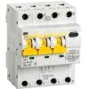 Выключатель автоматический дифференциального тока 4п (3P+N) C 25А 30мА тип A 6кА АВДТ-34 IEK MAD22-6-025-C-30