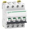 Выключатель автоматический модульный 4п C 25А 6кА iC60N Acti9 SchE A9F79425