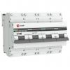 Выключатель автоматический модульный 4п C 100А 10кА ВА 47-100 PROxima EKF mcb47100-4-100C-pro