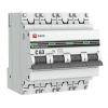 Выключатель автоматический модульный 4п C 63А 4.5кА ВА 47-63 PROxima EKF mcb4763-4-63C-pro