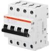 Выключатель автоматический модульный 4п C 25А 6кА S204 C25 ABB 2CDS254001R0254