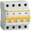 Выключатель автоматический модульный 4п C 50А 4.5кА ВА47-29 IEK MVA20-4-050-C