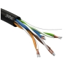Кабель  UTP 4x2x24AWG Cat5e CCA PE OUTDOOR 305м SIMPLE (м) ЭРА Б0044436
