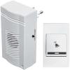 Звонок беспроводной Комфорт 32 мел. 100м блок звонка вставляется в электрич. розетку 220В Тритон КМ-01С
