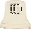 Звонок проводной Царь-колокол соловей 220В 80-90дБА бел. Тритон ЦР-05