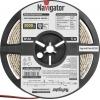 Лента светодиодная 71 410 NLS-3528WW120-9.6 IP20 12B R5 9.6Вт/м (уп.5м) Navigator 71410