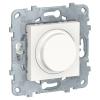 Светорегулятор UNICA NEW LED поворотно-нажимной универс. 5-200Вт бел. SchE NU551418