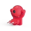 Светильник розеточный с фиксированной проекцией и датчиком освещ. 0.5Вт розо. 1/100 Gauss DIY0032