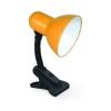 Светильник настольный под лампу СНП-01О на прищепке 40Вт E27 оранж. (мягкая упак.) IN HOME 4690612012780