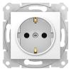 Механизм розетки 1-м СП Sedna 16А IP20 с заземл. быстрозажим. контакты защ. шторки бел. SchE SDN3001721