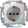 Механизм розетки 1-м СП Simon15 16А IP20 250В с заземл. Schuko защ. шторки винт. клеммы бел. Simon 1591443-030