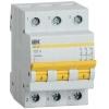 Выключатель нагрузки (мини-рубильник) ВН-32 3Р 125А IEK MNV10-3-125