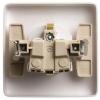 Розетка 1-м СП 1мод. Хит 16А IP20 250В с заземл. защ. шторки бел. SchE RS16-136-B