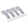 Пластина крепежная GSV H80 (4шт) в комплекте с крепежными элементами для монтажа DKC 30014K