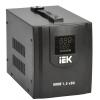 Стабилизатор напряжения HOME СНР 1/220 1.5кВА переносной IEK IVS20-1-01500